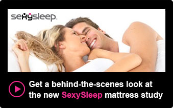 Get a behind–the-scenes look at the new SexySleep mattress study